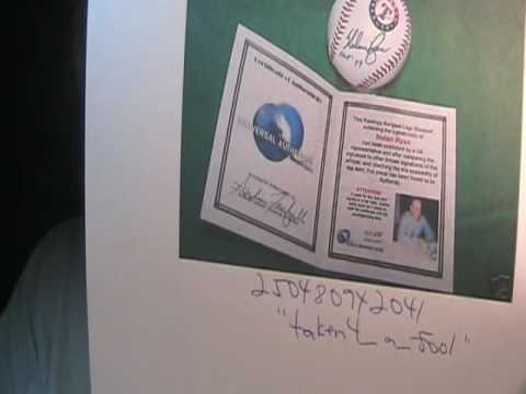 Fake Autographs On Ebay Sandy Koufax Willie Mays Johnny Unitas Signed Baseball Football Ken Griffey