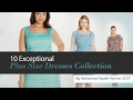 10 Exceptional Plus Size Dresses Collection By Adrianna Papell Winter 2017