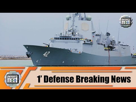 First Phase Sea Trials HMAS Sydney Air Warfare Destroyer Of Australian Navy 1' Defense Breaking News