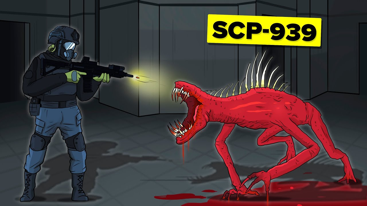 SCP-939 - With Many Voices (SCP Animation)