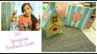 Diy: Springtime Birdhouse Craft