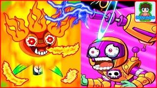 Игра Зомби против Растений  Герои от Фаника Plants vs zombies Heroes 7