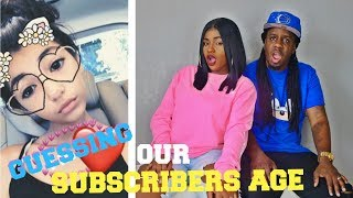 GUESS HER AGE CHALLENGE!!!! GUESSING OUR SUBSCRIBERS AGE