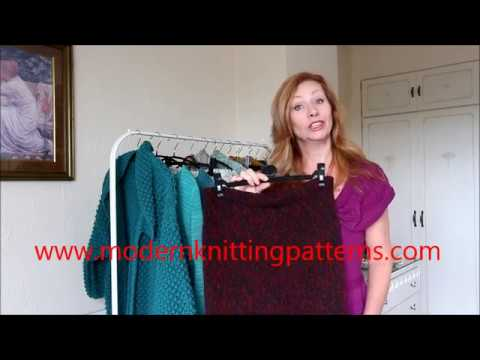 Modern Knitting Patterns Girly Skirt Youtube