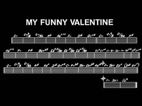 My Funny Valentine Richard Rodgers Backing Track For