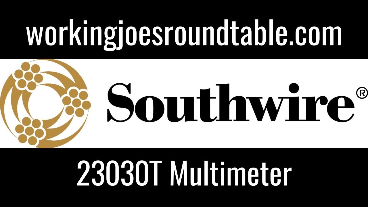 Southwire 23030T Maintenance Pro Multimeter Review - YouTube