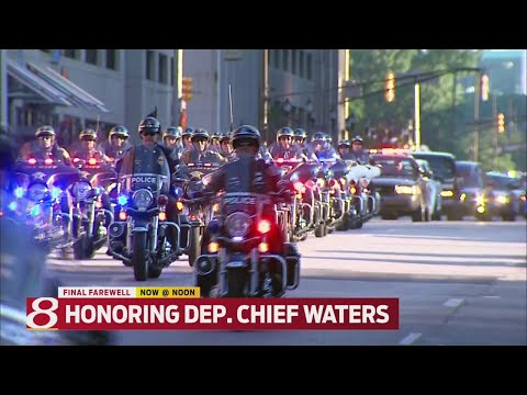 IMPD Deputy Chief Jim Waters laid to rest