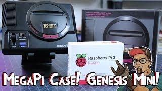 Sega Genesis Mini Classic RetroPie Case! The MegaPi From RetroFlag!