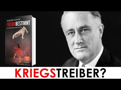 US-Präsident Roosevelt ein Kriegstreiber? Was uns Deutschen gern vorenthalten wird, in diesem Video!