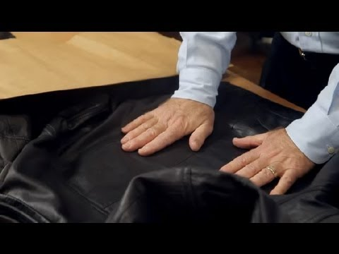 How to Unwrinkle a Leather Jacket : Leather & Fabric Care ...