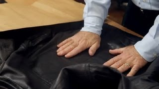 How to Unwrinkle a Leather Jacket : Leather & Fabric Care