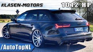 1012HP Audi RS6 Klasen Motors Review by AutoTopNL (English Subtitles)