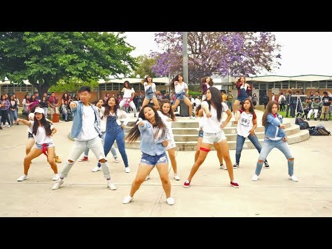 Santiago High School Dance Off 2017 - Girls League vs Boy's League LXG: Girl's Dance