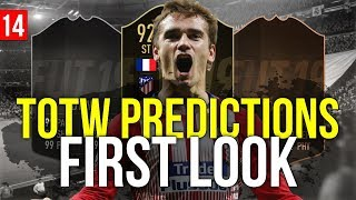 FIFA 19 - TOTW 14 PREDICTIONS FIRST LOOK | FT. 92 GRIEZMANN