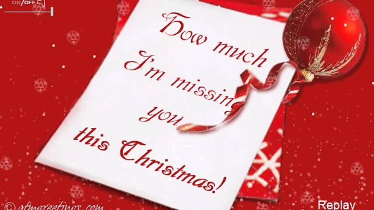 Merry Christmas | Miss You | Ecards | Wishes | Greetings card ...