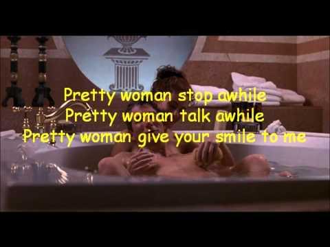 Oh, Pretty Woman / Roy Orbinson - Lyric Video - HD 1080p