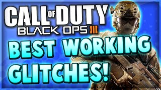 Black Ops 3 - All The Best Multiplayer Glitches Compilation! (20+ COD BO3 Glitches)