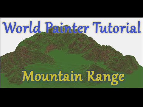 World Painter Tutorial - Mountain ranges - Medieval Kanto