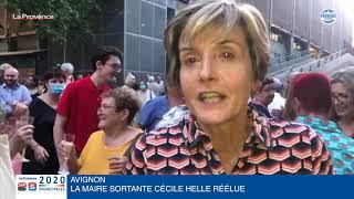 """Municipales à Avignon : """"C'est la victoire des idées et de la conviction"""" (Helle)"""