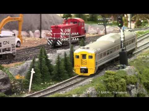Barrie Model Train Show 2017 - Barrie Allandale Railway Modellers
