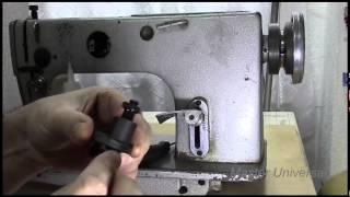 Профилактика и ремонт промышленной швейной машинки1022 класса.Часть 1.Видео №38.(В этом видео Вы сможете посмотреть:заправка масла в картер по индикатору.Принцип работы моталки,смазка..., 2014-12-26T21:35:30.000Z)