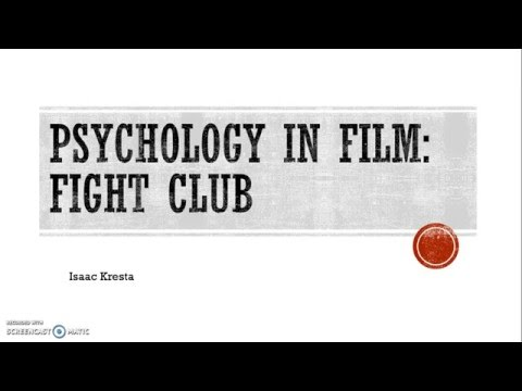 Psychology In Film: Fight Club
