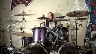 Amon Amarth - Twilight of the Thunder God Drum Cover - Zoom Q4