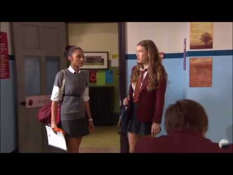 Joy And Nina Fight Over Fabian   House Of Anubis