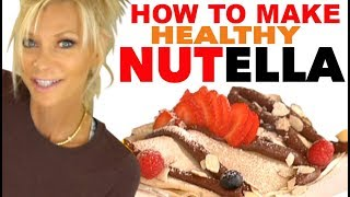 Make Your Own Healthy Nutella Chocolate Spread