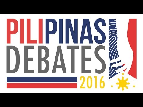 REPLAY: PiliPinas Debates 2016 (commercial-free)