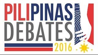 replay pilipinas debates 2016 commercial free