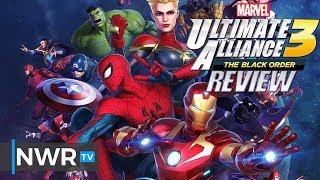 Marvel Ultimate Alliance 3: The Black Order (Switch) Review (Video Game Video Review)