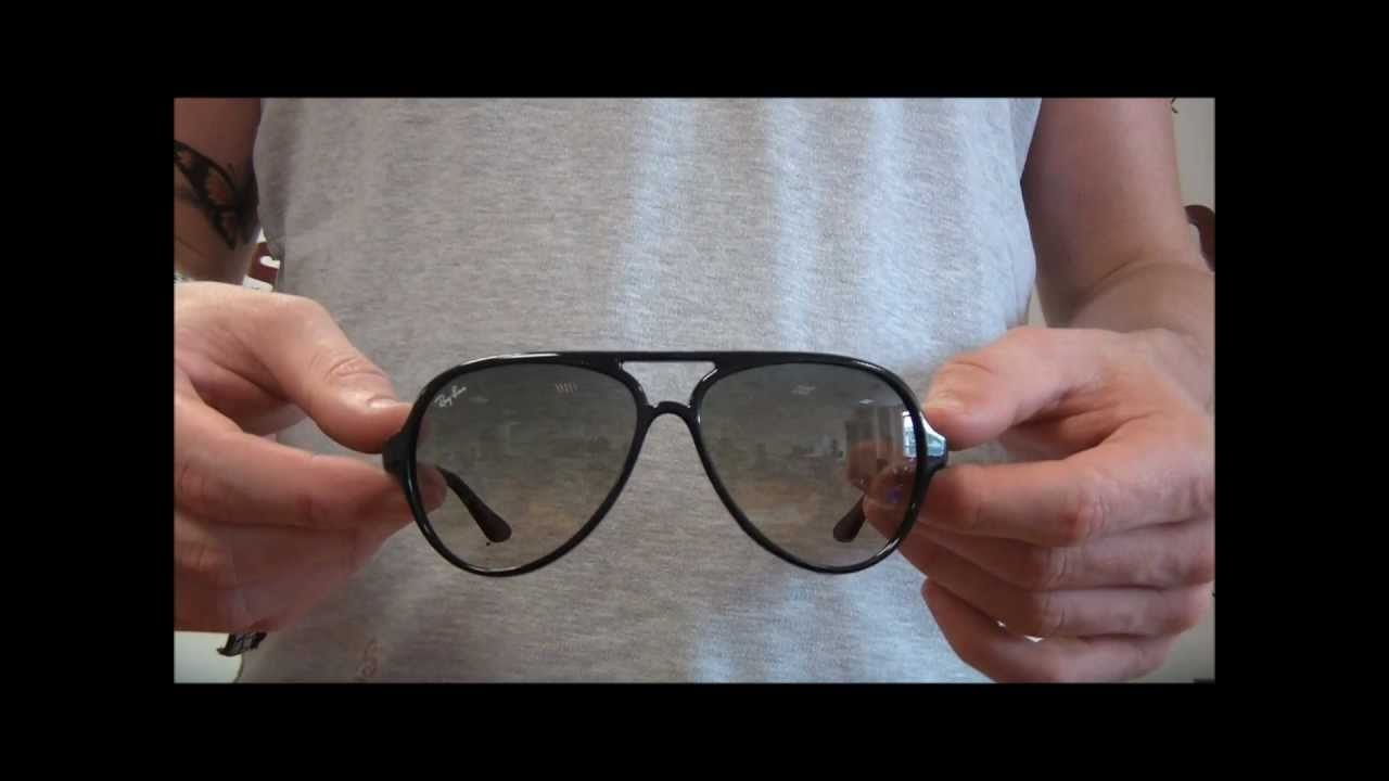 Ray Ban Cat 5000 Sunglasses Review - RB4125 601 32 - YouTube 635348531862