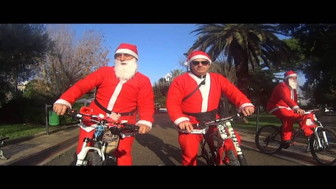 Babbo Natale In Bicicletta.Iii Babbo Natale In Bicicletta By Asd Globuli Rossi Mtb Ostuni
