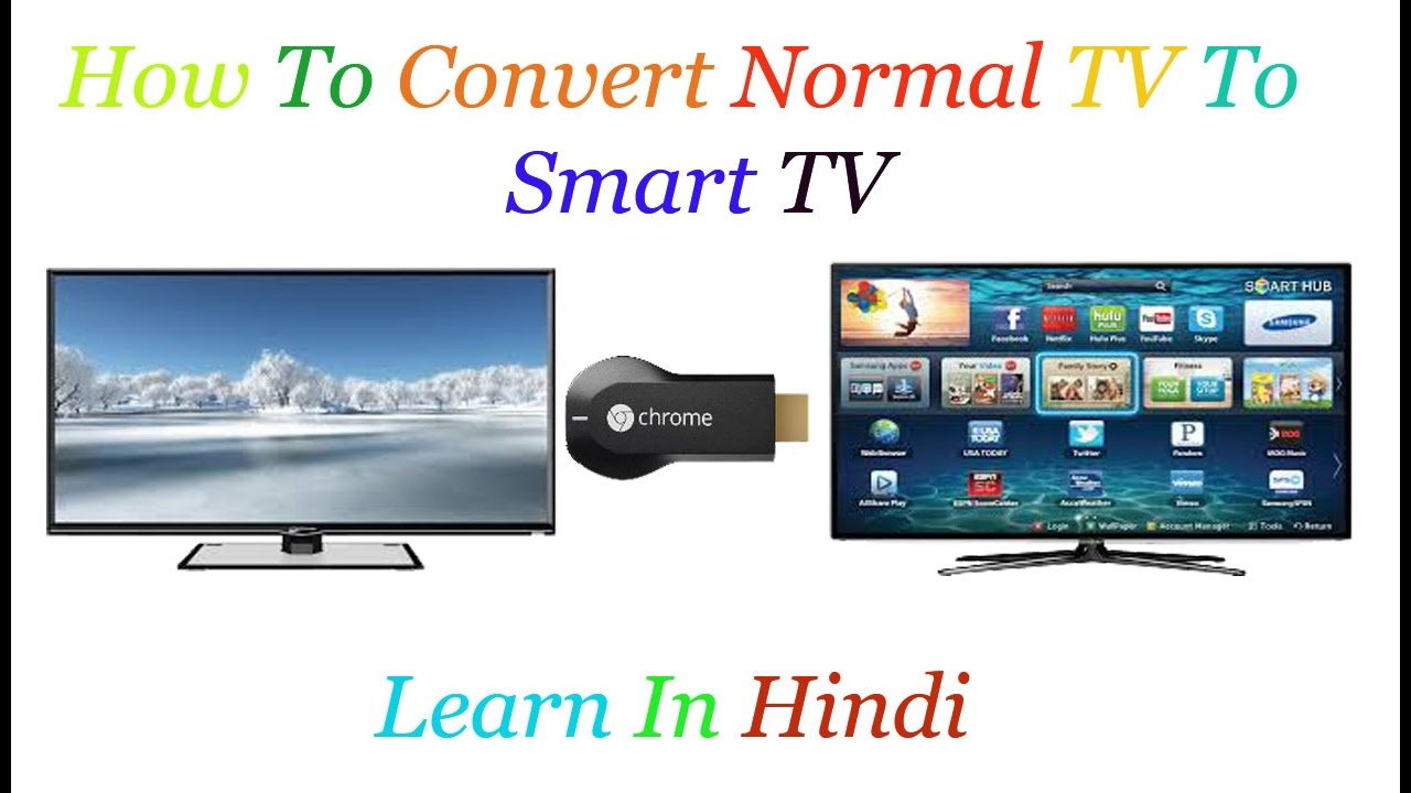 How To Convert You Normal TV Smart Tv/Android TV | Use