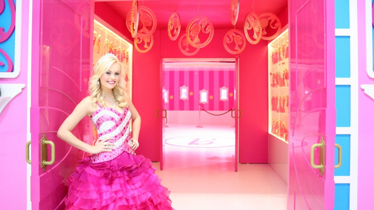 La casa real de barbie real life barbie dreamhouse en - Supercasa de barbie ...