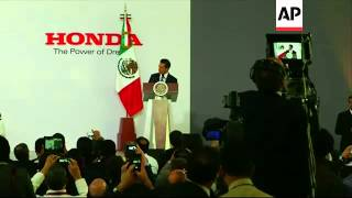 Opening of Honda plant sees Mexico surpass Japan as the major source of foreign cars to the US