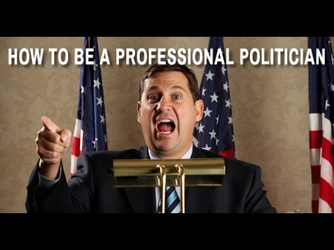 How to be a Professional Politician