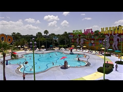 Disney's Pop Century Resort 2015 Tour and Overview Walt Disney World