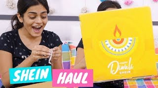 SHEIN Surprised Me With A Big Package for Diwali...Diwali Vlog 2018 | #DhwanisDiary