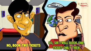 RJ Naved in 'Murga and Travel Agent'