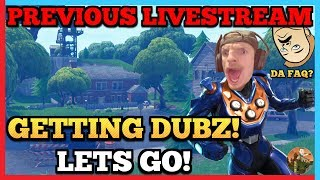 🔴 Dub Grinding! | Giveaways Announced On Instagram - @martimert_official | Fortnite | 🔴