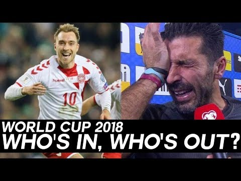 WORLD CUP Qualifiers: Who's In, and Who's Out of the 2018 World Cup in Russia?