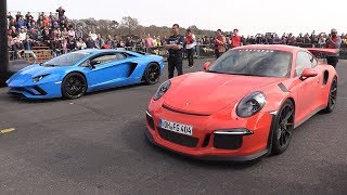 Porsche 991 GT3 RS vs Lamborghini Aventador S