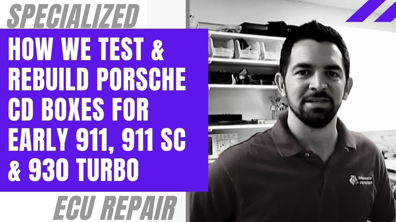 small resolution of how we test rebuild porsche cd boxes for early 911 911 sc 930 turbo