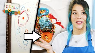 Can These Chefs Turn This Alien Drawing Into Real Food? • Tasty