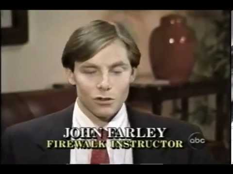 Warning: Firewalk with Hypnotist John Farley, Jr.