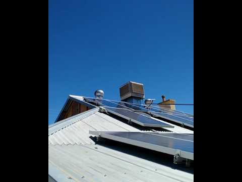 Solar Panel Cleaning Loxton,Riverland S.A