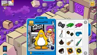 Clothing glitch on Club Penguin Rewritten 🐧