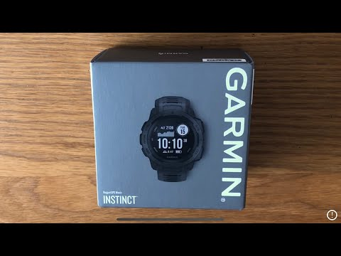 Garmin Instinct - Unboxing and First Impressions // New G-shock GPS watch?
